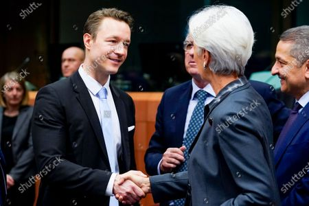 Christine Lagarde, Gernot Blumel