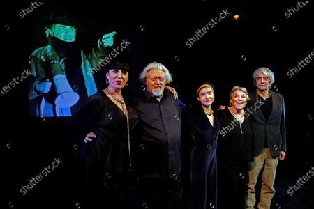 Editorial photo of Presentation of the theater play Master Fellini in Barcelona, Spain - 20 Jan 2020