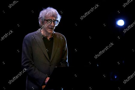 Sergio Rubini performs during the presentation of the play 'Master Fellini', in Barcelona, Spain, 20 January 2020, to mark today's 100th birthday of Italian filmmaker Federico Fellini (1920-1993). Barcelona's 'Teatre Akademia' pays homage to Fellini with a play that runs from 22 January to 16 February 2020.