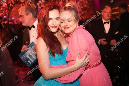 Madeline Brewer, Elisabeth Moss. Madeline Brewer, left, Elisabeth Moss attend the 2020 PEOPLE SAG Awards Afterparty at the Shrine Auditorium & Expo Hall, in Los Angeles