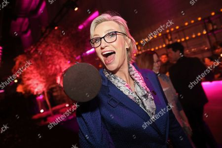 """Jane Lynch, winner of the award for outstanding performance by an ensemble in a comedy series for """"The Marvelous Mrs. Maisel"""" attends the 2020 PEOPLE SAG Awards Afterparty at the Shrine Auditorium & Expo Hall, in Los Angeles"""