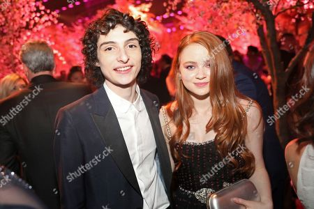 Finn Wolfhard, Sadie Sink. Finn Wolfhard, left. And Sadie Sink attend the 2020 PEOPLE SAG Awards Afterparty at the Shrine Auditorium & Expo Hall, in Los Angeles