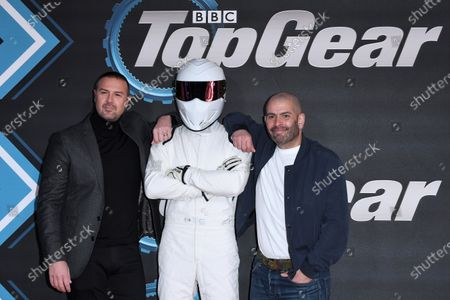 Paddy McGuinness, The Stig and Chris Harris