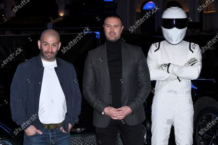 Chris Harris, Paddy McGuinness and The Stig