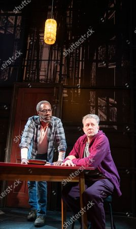 Editorial photo of 'The Sunset Limited' Play performed at the Boulevard Theatre, London, UK - 20 Jan 2020