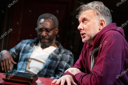 Editorial image of 'The Sunset Limited' Play performed at the Boulevard Theatre, London, UK - 20 Jan 2020