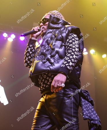 Stock Picture of Future, Nayvadius DeMun Wilburn. Future performs during the No Place Like Home Tour at the Coca-Cola Roxy, in Atlanta