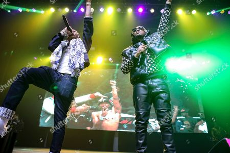 Future, Nayvadius DeMun Wilburn. Future performs during the No Place Like Home Tour at the Coca-Cola Roxy, in Atlanta