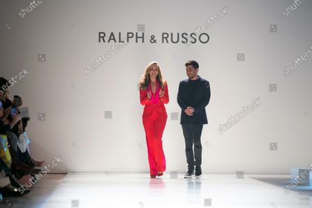 Editorial photo of Ralph and Russo - Runway - Paris Fashion Week Ready to Wear S/S 2020, France - 20 Jan 2020