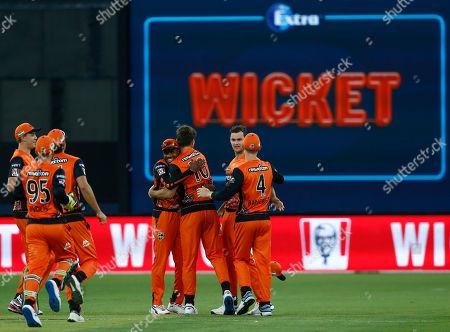 Editorial image of Perth Scorchers v Sydney Thunder, Cricket, Big Bash League, Optus Stadium, Perth, Australia - 20 Jan 2020