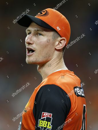 Editorial picture of Perth Scorchers v Sydney Thunder, Cricket, Big Bash League, Optus Stadium, Perth, Australia - 20 Jan 2020