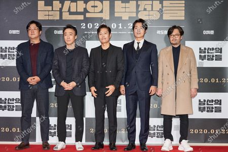 Kwak Do-Won, Lee Seong-min, Byung-hun Lee, Lee Hee-joon and Woo Min-ho