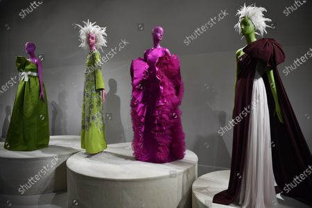 Creations by Italian designer Giambattista Valli are on display during the Spring/Summer 2020 Haute Couture collection for the Giambattista Valli fashion house within the Paris Fashion Week, in Paris, France, 20 January 2020. The presentation of the Haute Couture collections runs from 20 to 23 January 2020.