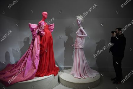 Editorial picture of Giambatista Valli - Exhibition - Paris Haute Couture Fashion Week S/S 2020, France - 20 Jan 2020