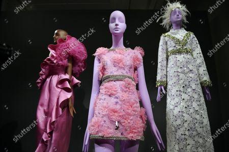 Editorial photo of Giambatista Valli - Exhibition - Paris Haute Couture Fashion Week S/S 2020, France - 20 Jan 2020