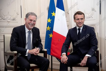 Editorial picture of 'Choose France' summit, Versailles, France - 20 Jan 2020