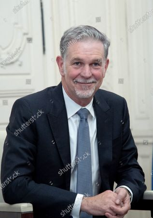 Stock Photo of Netflix CEO Reed Hastings