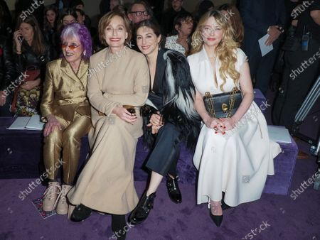 Judy Chicago, Kristin Scott Thomas, Amira Casar, Haley Bennett