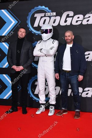 Paddy McGuinness, Chris Harris and The Stig