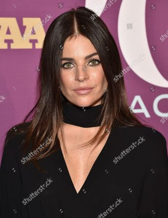 Julia Restoin Roitfeld attends the 2019 Footwear News Achievement Awards at the IAC Building, in New York