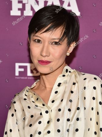 Stock Photo of Jimmy Choo creative director Sandra Choi attends the 2019 Footwear News Achievement Awards at the IAC Building, in New York