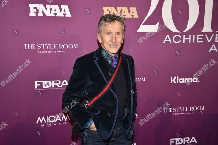Simon Doonan attends the 2019 Footwear News Achievement Awards at the IAC Building, in New York