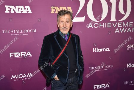 Stock Photo of Simon Doonan attends the 2019 Footwear News Achievement Awards at the IAC Building, in New York