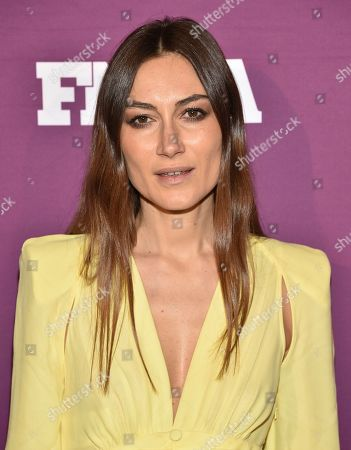 Giorgia Tordini attends the 2019 Footwear News Achievement Awards at the IAC Building, in New York