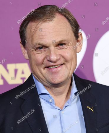 Stock Photo of Puma CEO Bjorn Gulden attends the 2019 Footwear News Achievement Awards at the IAC Building, in New York