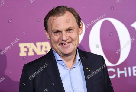 Puma CEO Bjorn Gulden attends the 2019 Footwear News Achievement Awards at the IAC Building, in New York