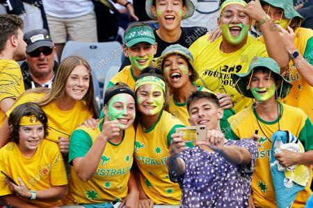 Editorial picture of Tennis Australian Open 2020, Melbourne, Australia - 21 Jan 2020