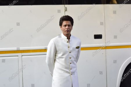 Stock Photo of Shah Rukh Khan arrives