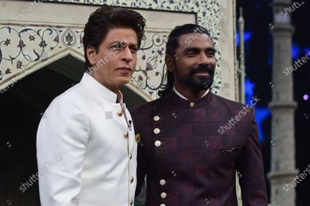 Stock Image of Shah Rukh Khan and Remo D'Souza arrives