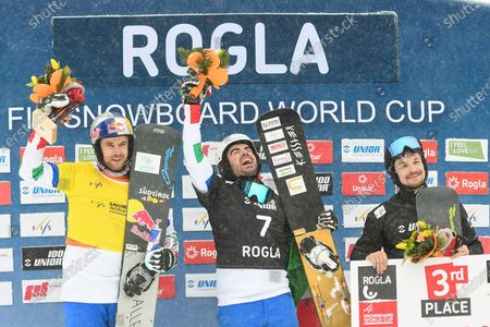 Editorial image of FIS World cup Parallel Giant Slalom, Snowboarding, Rogla, Slovenia - 18 Jan 2020
