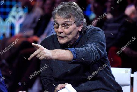Editorial photo of 'Le Parole Della Settimana' TV show, Milan, Italy - 19 Jan 2020