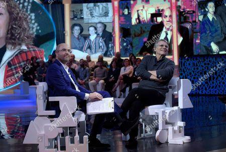 Massimo Gramellini and Daniel Pennac