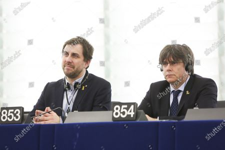Antoni Comín and Carles Puigdemont