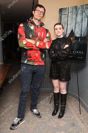 Oz Perkins (Director) and Sophia Lillis