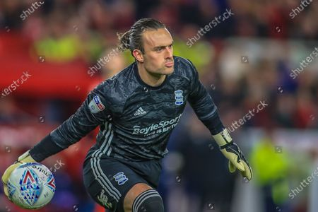 21st January 2020, Riverside Stadium, Middlesbrough, England; Sky Bet Championship, Middlesbrough v Birmingham City : Lee Camp (1) of Birmingham City throws the ball out