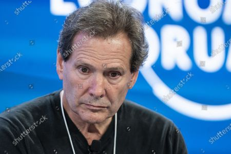 Dan Schulman, President and Chief Executive Officer of PayPal, USA, addresses a panel session during the 50th annual meeting of the World Economic Forum, WEF, in Davos, Switzerland, 21 January 2020. The meeting brings together entrepreneurs, scientists, corporate and political leaders in Davos from January 21 to 24.
