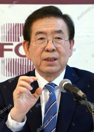 Mayor of Seoul, Park Won-soon reported missing