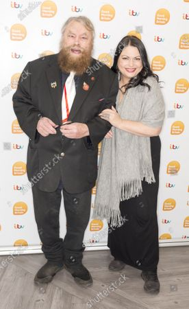 Brian Blessed and Rosalind Blessed