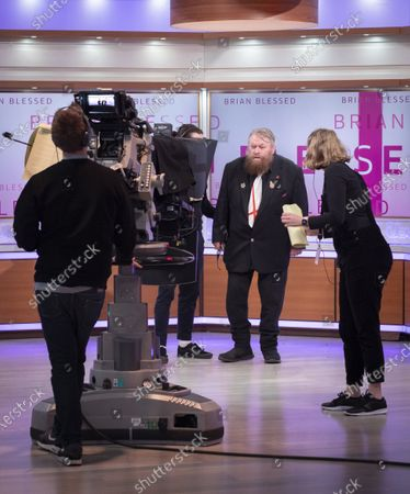 Editorial picture of 'Good Morning Britain' TV show, London, UK - 21 Jan 2020