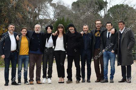 Cast : Ioan Tiberiu Dobrica, Bebo Storti, Monica Billiani, Cristina Flutur, director Ivano De Matteo, Massimiliano Gallo, Marco Giallini, Vinicio Marchioni, producer Marco Poccioni
