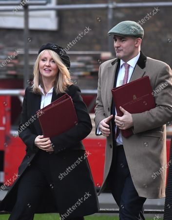 Esther McVey and Jake Berry
