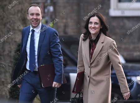 Matt Hancock and Theresa Villiers