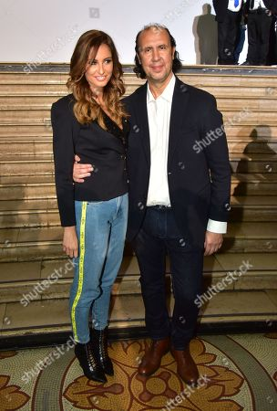 Malika Menard and Tony Ward