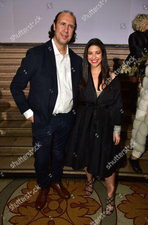 Tony Ward and Alia Chergui