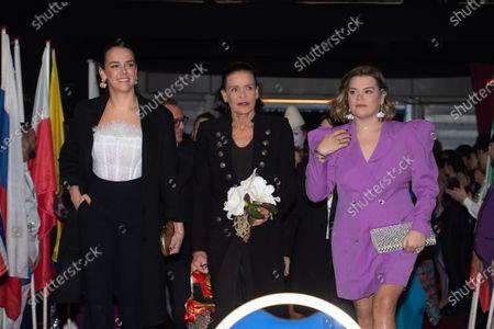 Pauline Ducruet, Princess Stephanie of Monaco and Camille Marie Kelly Gottlieb