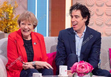 Joan Bakewell and Stephen Mangan